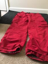 Urban Pipeline Mens Lined Athletic Pants Sz 32X32 Red