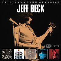 JEFF BECK - ORIGINAL ALBUM CLASSICS 5 CD NEUF