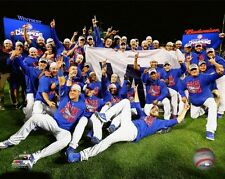 "Chicago Cubs 2016 NLCS Team Celebration Photo TL237 (Size: 8"" x 10"")"