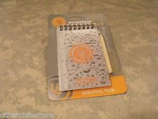 "Ultimate Survival Technologies: 3""x5"" Waterproof Notebook w/Pencil,  UST"
