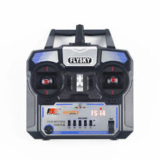 FlySky FS-i4 2.4GHz 4CH Transmitter Remote Control+A6 Receiver For RC Airplane