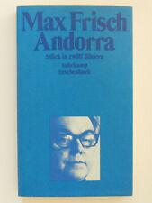 Max Frisch Andorra Suhrkamp Taschenbuch