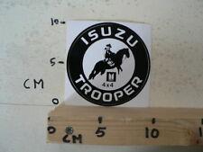 STICKER,DECAL ISUZU 4*4 TROOPER PAARD HORSE COWBOY CAR AUTO A