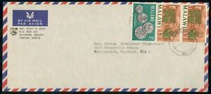 MayfairStamps Malawi Lilongwe to Springfield Missouri Air Mail Cover wwi85989
