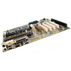 Asus P2B-VT Intel 440BX slot 1 motherboard with 1 ISA, 4 PCI, 1 AGP slot. On-Boa