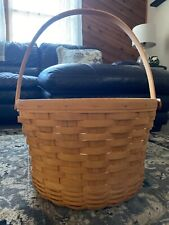 Longaberger Large Fruit Basket With Protector