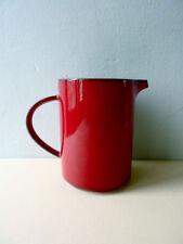 pichet, cruche céramique rouge, modèle Granada Villeroy & Boch vintage années 80