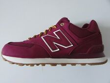 NEW New Balance 574 Shoes Mens Size 8 US Maroon Athletic Running