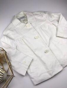 NWOT BANANA REPUBLIC Women's White Jacket Size XS