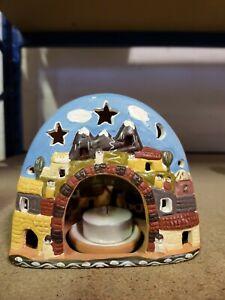 24 x Ceramic Candle Tea Light Holders  - Set of 24 - Fast Free PP