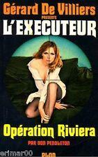 L' EXECUTEUR  / 5 // Opération Riviera / Don PENDLETON