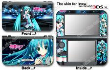 Hatsune Miku Amazing Vinyl Skin Sticker Decal Cover #1 for NEW Nintendo 3DS XL