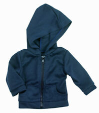 "Doll Clothes fits 18"" American Girl Navy Blue Hoodie Jacket Boy DETAILED!"