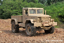 CROSS-RC HC4 4WD 1/10 Scale Off Road Military Truck Crawler Rig RC Model KIT