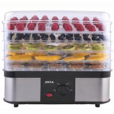 Klarstein Essiccatoio disidratatore elettrico alimenti Frutta cucina Pesce 250w