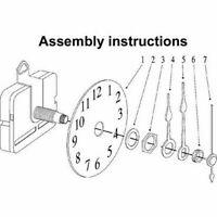Kreuzstich Reparatur Ersatzteile Uhrwerk Mechanismus K3A4 Qualiy High With W0F5