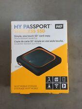 Brand New 1TB External Hard drive *wireless* (SSD) WD My Passport SSD