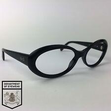 bbfae6e813cda SALVATORE FERRAGAMO eyeglasses BLACK OVAL glasses frame MOD  2013