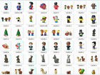 Lots of Fisher Price Little People Zoo Animal (No Sound ) And People Kids Toys