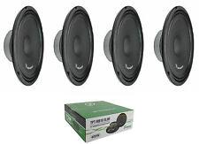 "(4) Timpano TPT-MB10 Slim 10"" 4 Ohm 1600W Mid Bass Loudspeaker 2 Pair"