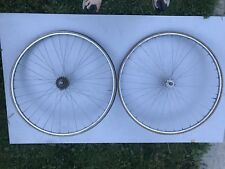 First Gen Dura Ace Wheel Set With Fiamme Rims Tubular L'eroica