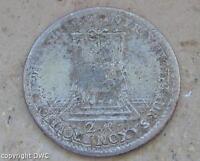Coin Münze Doppelgroschen Friedrich August II. von Sachsen 1742 Silber silver