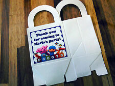 12 POCOYO  loot boxes/bags birthday party favor treat, CUSTOMIZE IT!