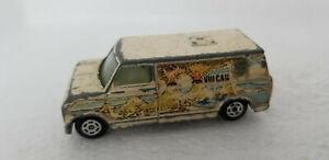 Vintage Yatming Yat Ming VULCAN Van #1501 Hong Kong White Ford or Chevy Van