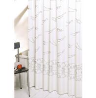 Tenda doccia bagno marina elegante antimuffa pvc anelli inclusi made in italy