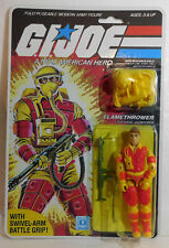 Reproduction packaged G.I. Joe 1984 Flamethrower { Code Name: Blowtorch }