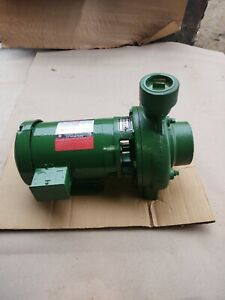 CRANE DEMING END SUCTION CENTRIFUGAL PUMP # 3122A and US MOTOR 1-1/2 HP 1730 RPM