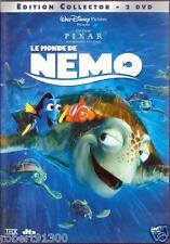 D.V.D./...LE MONDE DE NEMO../...WALT DISNEY.../...COLLECTOR.../...2 DVD.....
