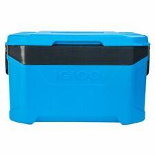 Igloo Latitude Camping Fishing 50QT 47L Litres Cooler Cool Box Blue 4899739