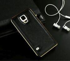 Fundas y carcasas bumper de color principal negro de metal para teléfonos móviles y PDAs