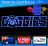 Doggies Decal Blue Original Artwork sticker Super Supporter