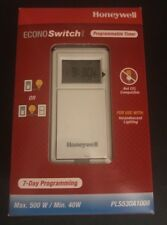Honeywell PLS530A1008 EconoSwitch, White New In Box