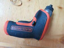 Black & Decker Cordless Rechargeable Screwdriver BDCS30C 4V Lithium LED USB READ
