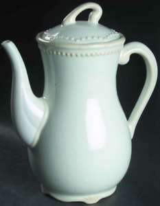 Princess House Pavillion Ceramic Personalization Marker Ivory Cream