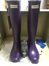 Purple Hunter Wellies -size 7 - Brand New With Box
