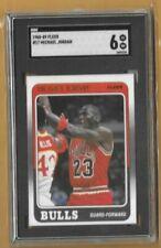 Michael Jordan 1987-88 Fleer Stricker SGC 8.5--Bulls