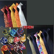ON SALE 180 Color Men's Classic Tie Silk Necktie Paisley Stripes Plaids Dots