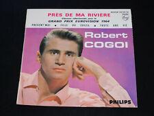 45 RPM EP - Robert Cogoi - Pres de Ma Río - Eurovision 1964