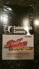 UFS Street Fighter Universal Fighting System booster box Sabertooth Games Rare!