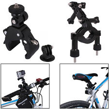 Bike Rollbar+Handlebar Clamp Mount+Tripod Adapter for GoPro Hero 3/3+/4/4Session