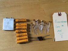 Vintage Phone Parts For Repair Misc Electronics Transistors Tva-1414, Jk 8836 L