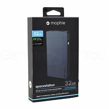 New Mophie 6000 mAh 32GB Storage Drive Powerbank Battery Charger For Smartphones