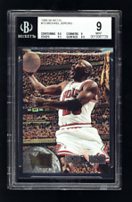 1995-96 Fleer Metal Michael Jordan #13 BGS 9 w 9.5 9.5 2 Gem Mint subs