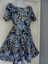 STUNNING  LADIES DOROTHY PERKINS     SUMMER  TEA     DRESS   SIZE  14