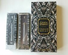 Urban Decay Game of Thrones Eyeshadow Palette + Longclaw + Needle brushes set