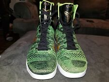 Kobe 9 elite Victory green what the Kobe size 13